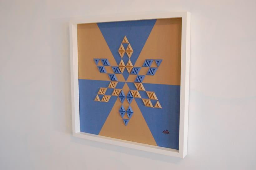 Heraldic: arte 3D en papel 0