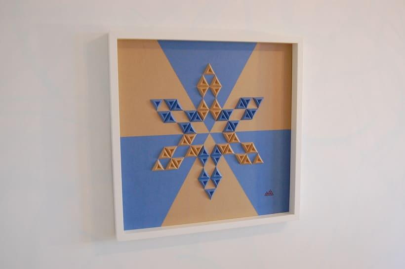 Heraldic: arte 3D en papel 1