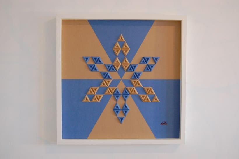 Heraldic: arte 3D en papel 2