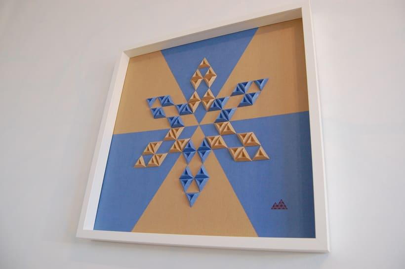 Heraldic: arte 3D en papel 3