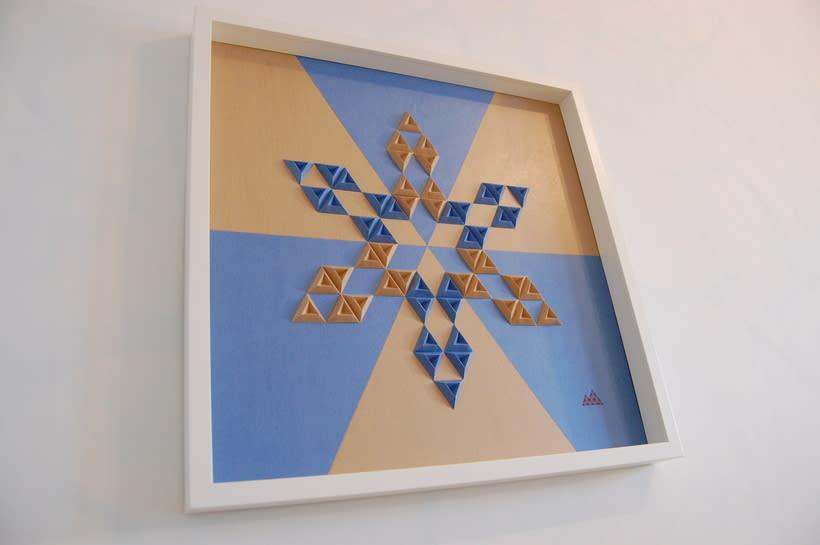 Heraldic: arte 3D en papel 4