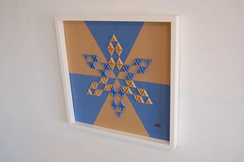 Heraldic: arte 3D en papel 5