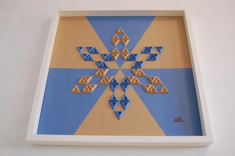 Heraldic: arte 3D en papel 6