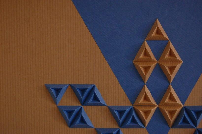 Heraldic: arte 3D en papel 7