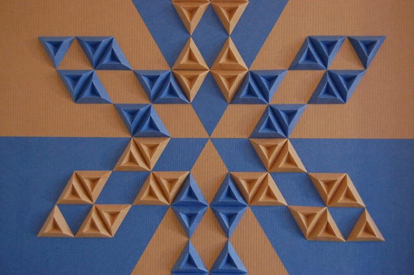 Heraldic: arte 3D en papel 8
