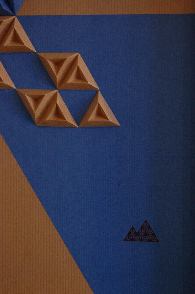 Heraldic: arte 3D en papel 9