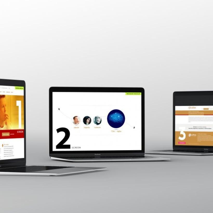 Clinica Dr Semelas,  Proyecto Web, diseño de logo, packaging branding 1