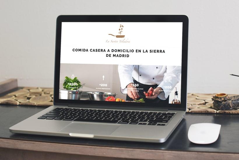 Identidad corporativa para Marca Carlos Cocinero, comida casera a domicilio 0