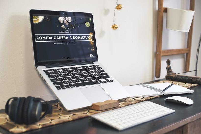 Identidad corporativa para Marca Carlos Cocinero, comida casera a domicilio 1