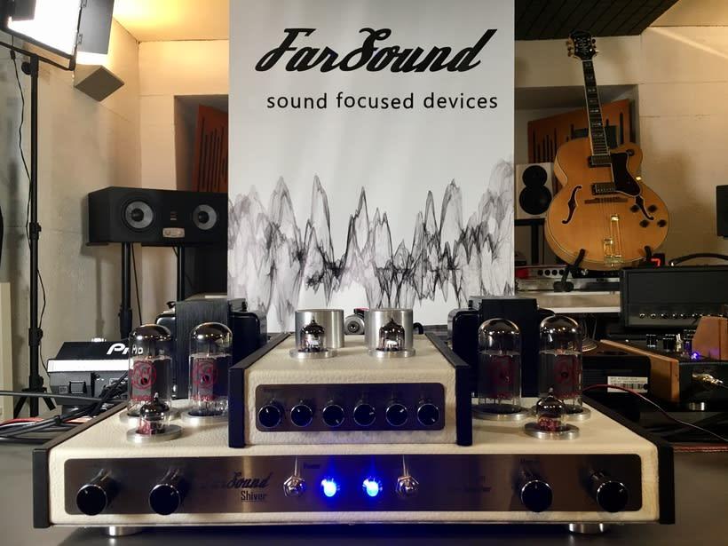 FarSound  Sound Focused Devices (marca de equipos de sonido a válvulas)  2