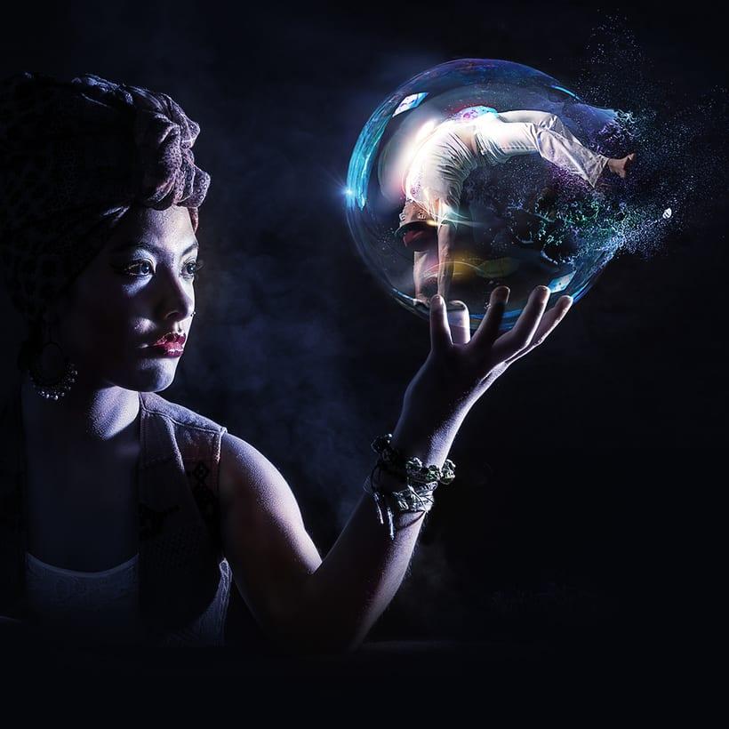 Fotografía creativa y fotocomposición con Photoshop: «Arte & Magia» 4