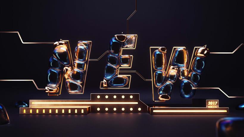 Los letterings y bodegones en 3D de Jose Checa 3