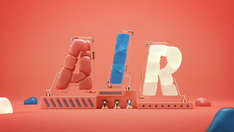 Los letterings y bodegones en 3D de Jose Checa 5