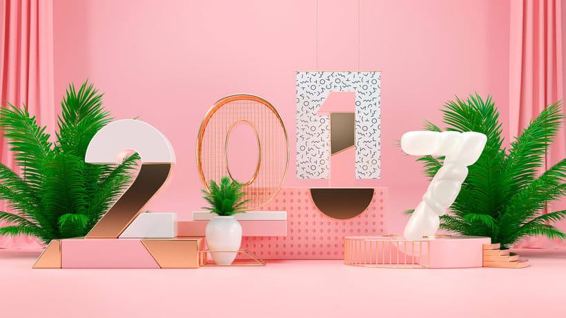Los letterings y bodegones en 3D de Jose Checa 10