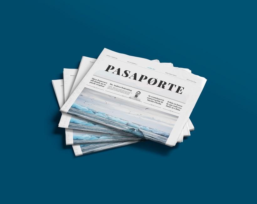 Pasaporte Newspaper 0