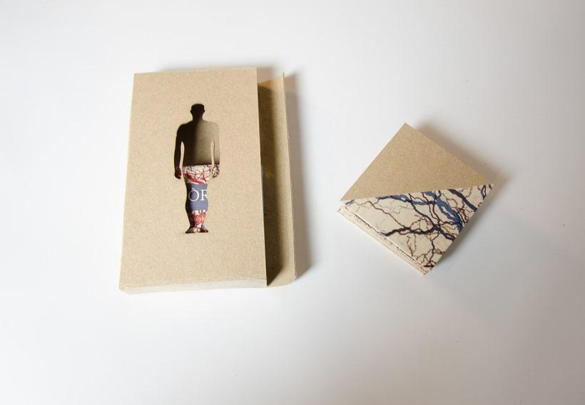 Libro acordeón 'Organs' 1