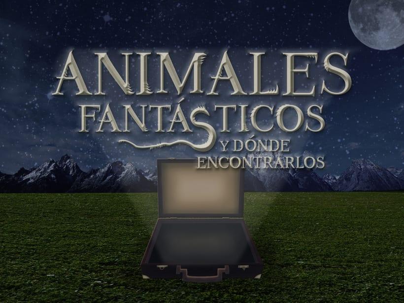 Wallpaper de Animales Fantásticos y Dónde Encontrarlos -1