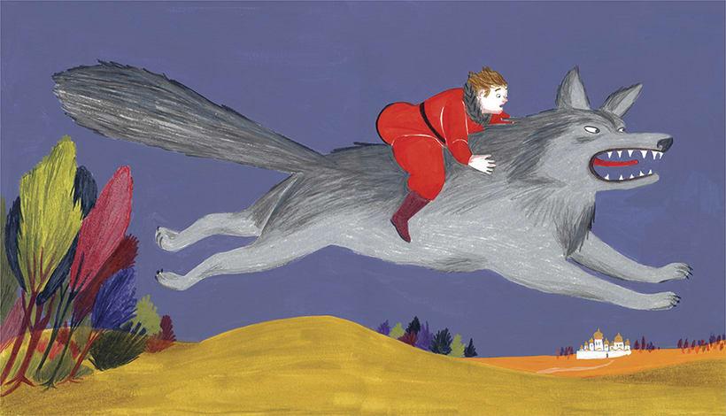 The firebird. / El pájaro de fuego. 3