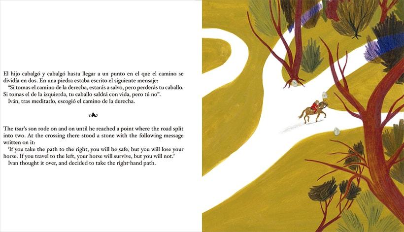 The firebird. / El pájaro de fuego. 4
