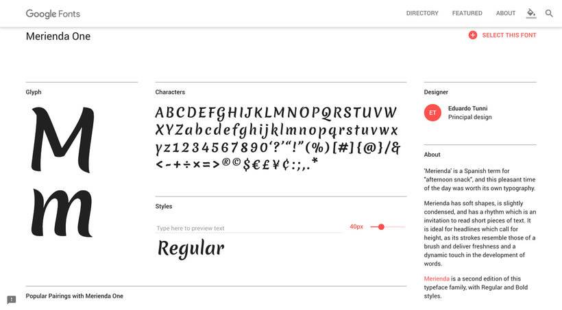 Fontmap: el mapa interactivo para elegir tipografías 6