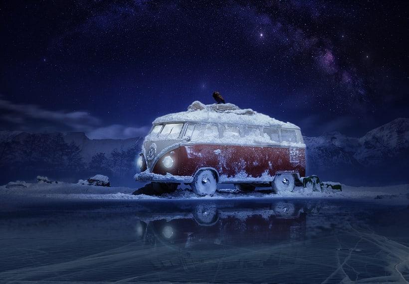 Parados en el hielo -1