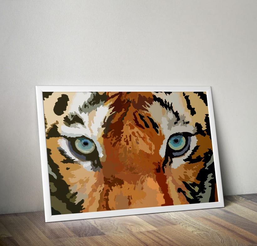 Arte digital | Tigre 0