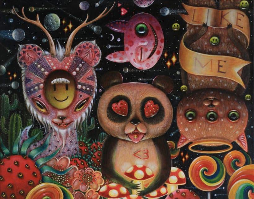 El arte introspectivo de Peca 20