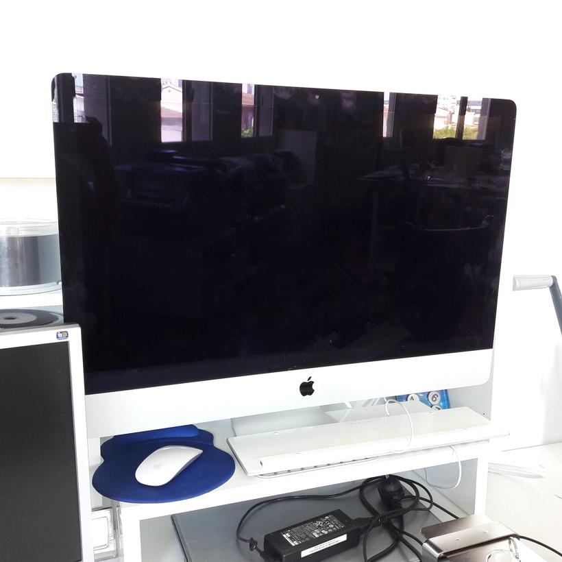 """Vendo iMac 27"""" i7 quad-core 3.4 Ghz 16GB Ram 3TB 1"""