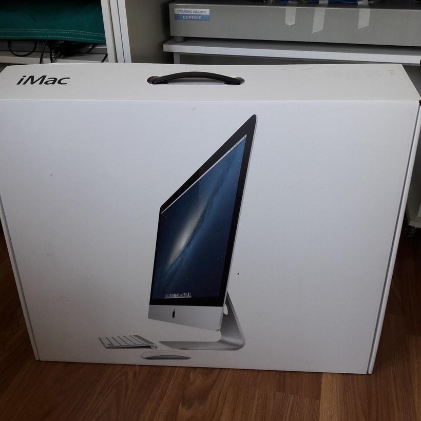 """Vendo iMac 27"""" i7 quad-core 3.4 Ghz 16GB Ram 3TB 2"""