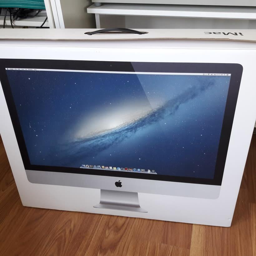 """Vendo iMac 27"""" i7 quad-core 3.4 Ghz 16GB Ram 3TB 3"""