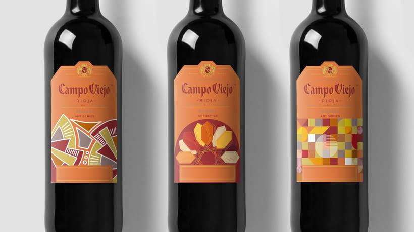 Campo Viejo, etiquetas de vino 0