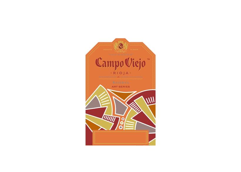 Campo Viejo, etiquetas de vino 1
