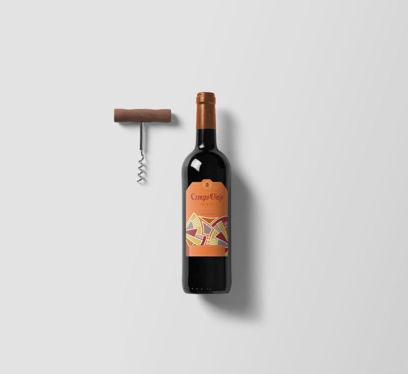 Campo Viejo, etiquetas de vino 2