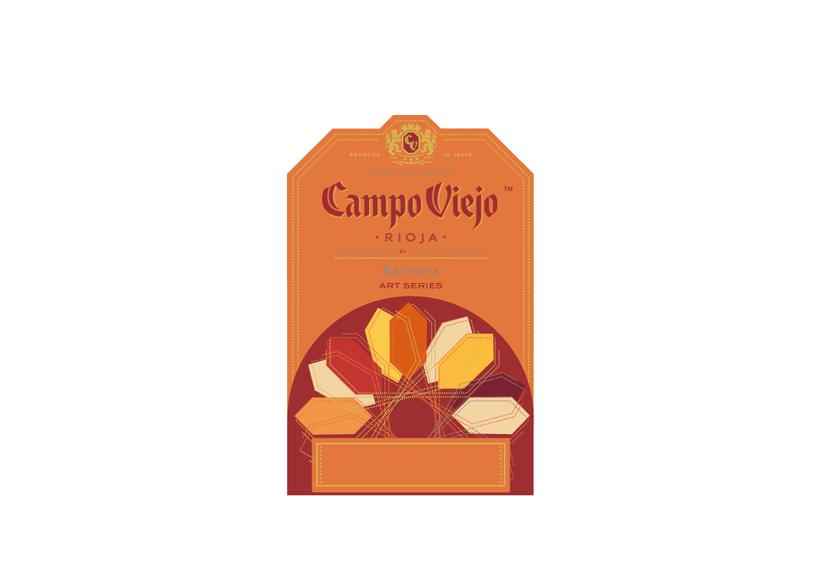 Campo Viejo, etiquetas de vino 3