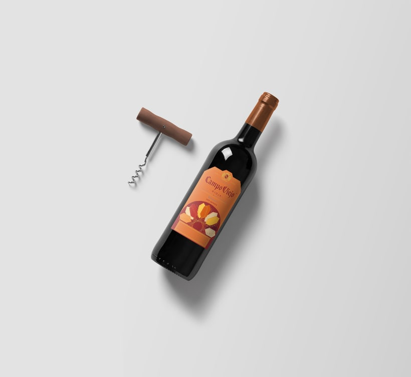 Campo Viejo, etiquetas de vino 4