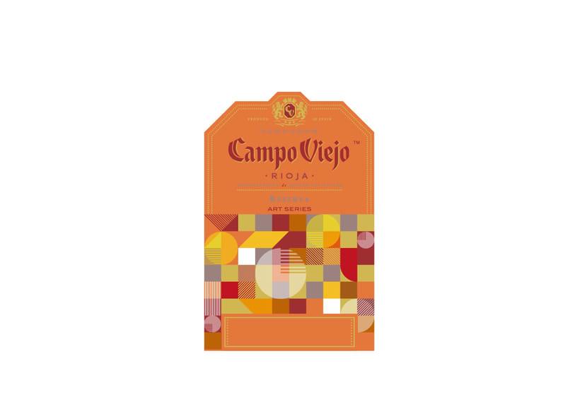 Campo Viejo, etiquetas de vino 5