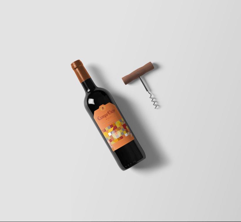 Campo Viejo, etiquetas de vino 6
