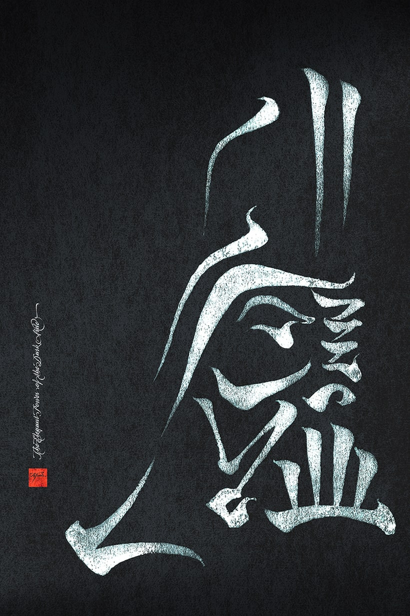 elegant power of the dark side cartel para may the 4th domestika