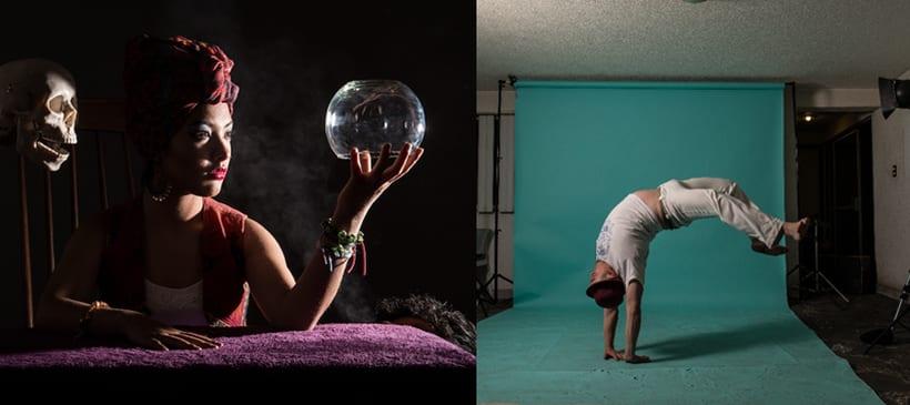 Fotografía creativa y fotocomposición con Photoshop: «Arte & Magia» 1