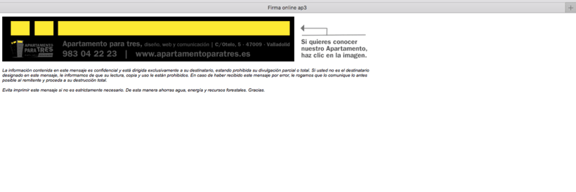 Firma mail html mac 1