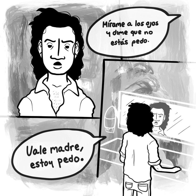 Inchi güeva: Serie de ilustración sobre la vida cotidiana 6