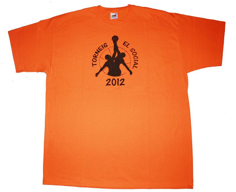 Camiseta Torneo de Baloncesto 2012 d'El Social -1
