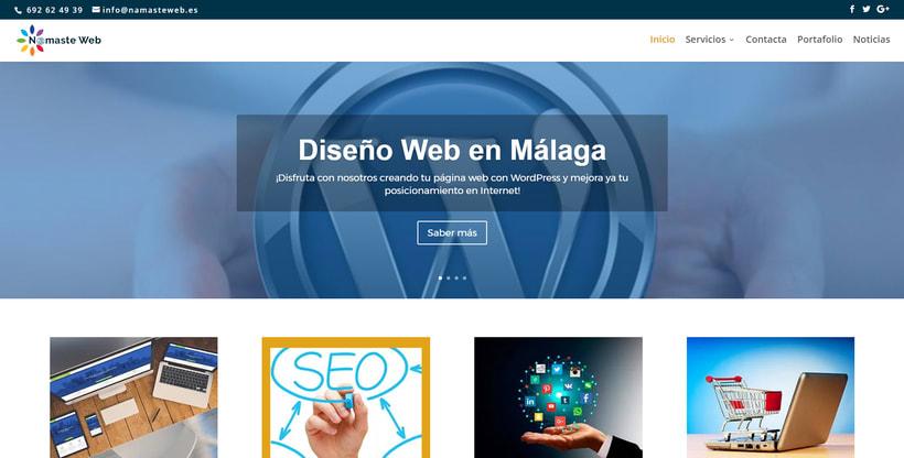 Namaste Web Málaga. 0