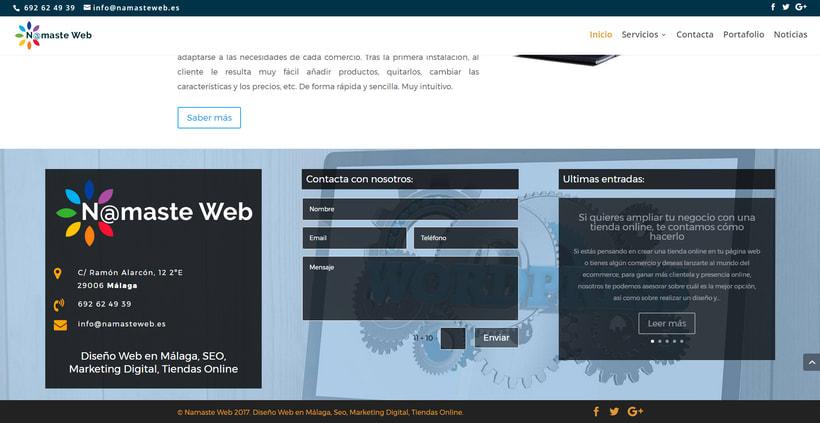 Namaste Web Málaga. 1