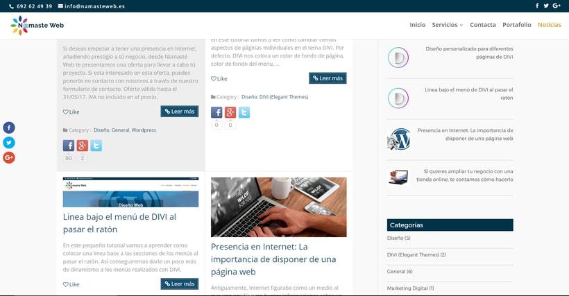 Namaste Web Málaga. 2
