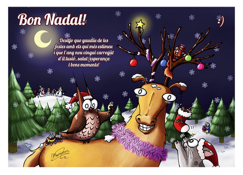 Postal de Navidad 2014 -1