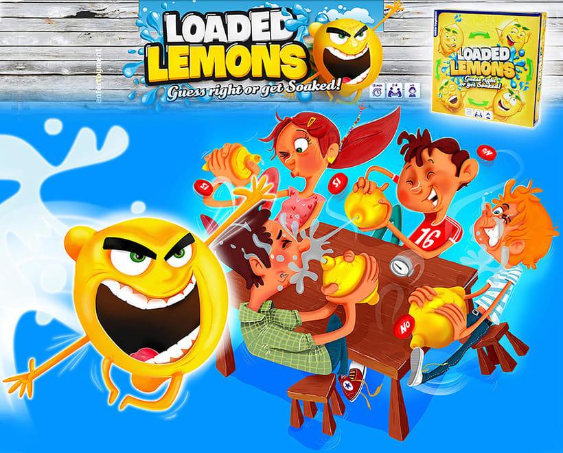 LOADED LEMONS. Creación de personajes 0