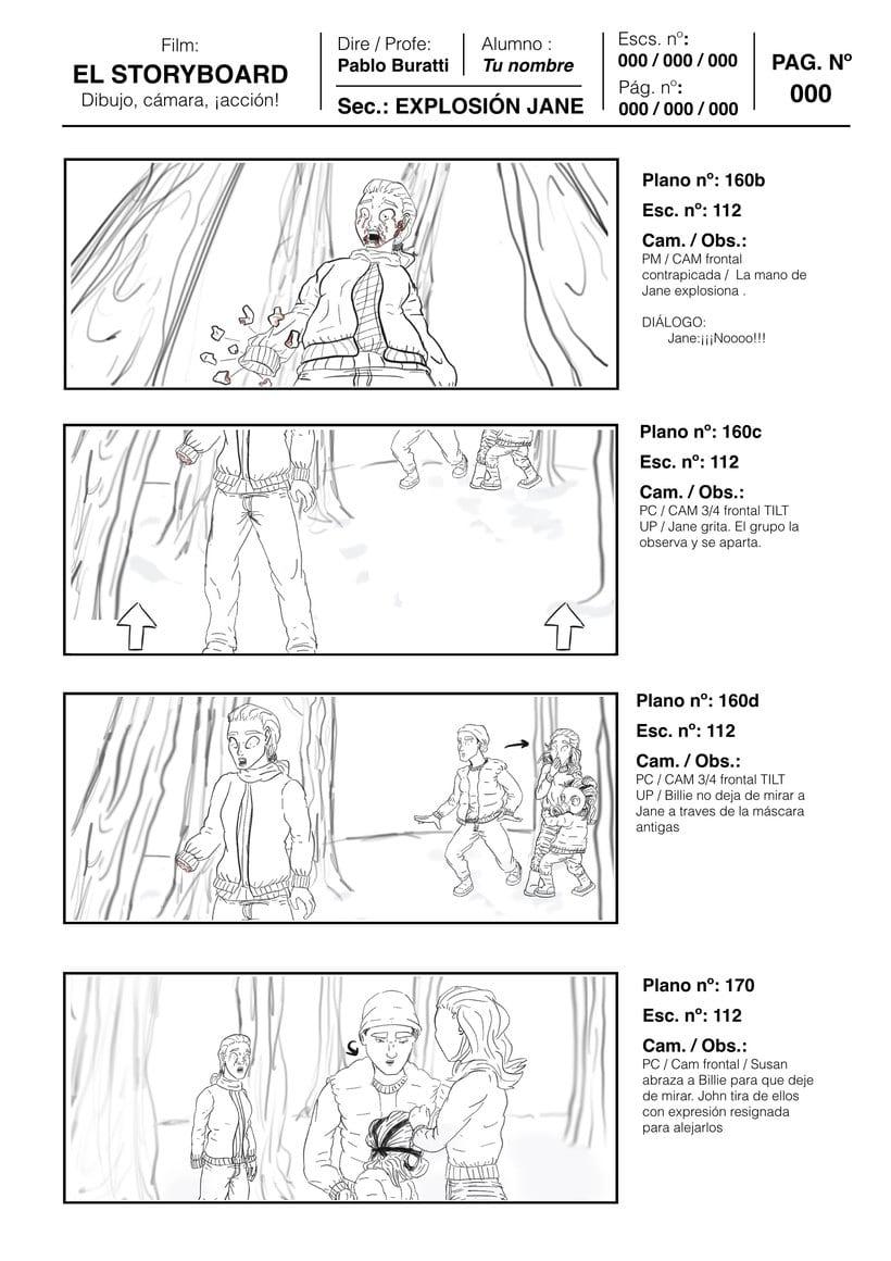 Mi Proyecto del curso: Ilustración de storyboards para Cine y ...