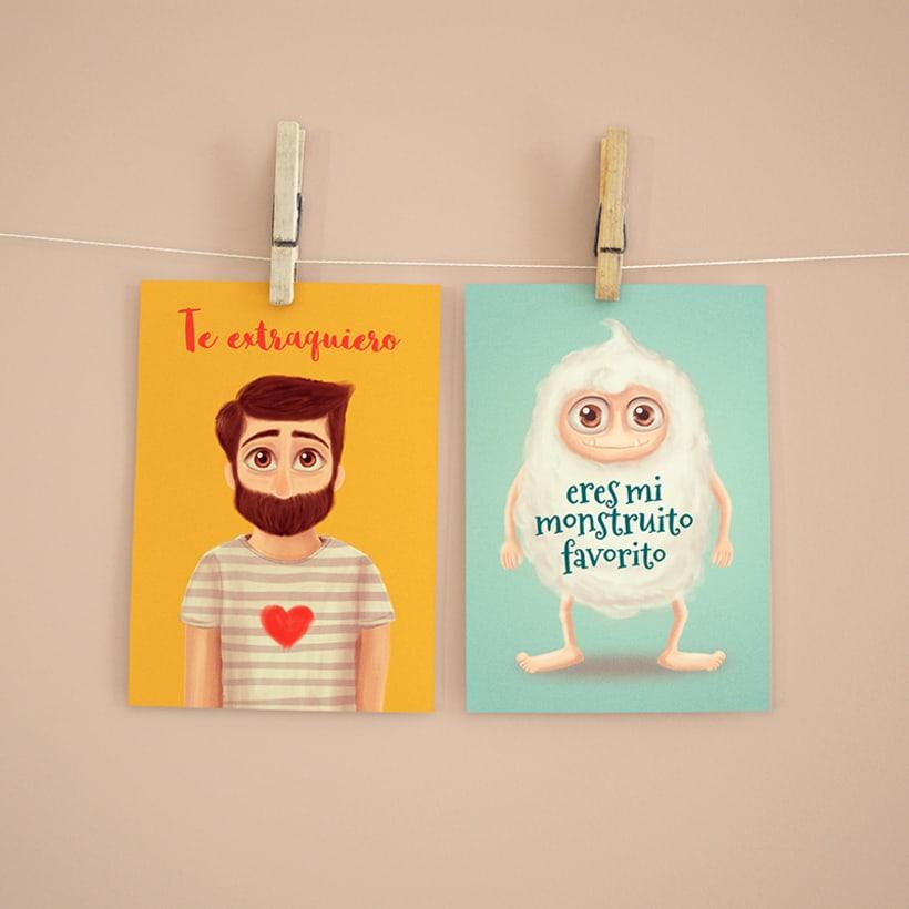Colección de Postales ilustradas 2