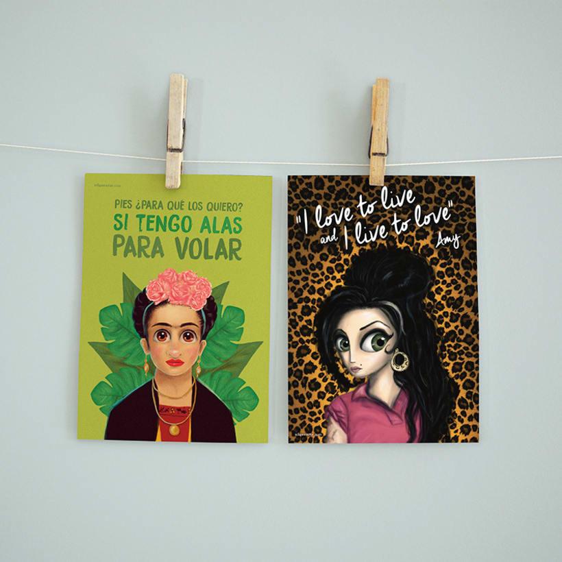 Colección de Postales ilustradas 3